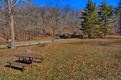 Nice Place for a Picnic (kendoman26) Tags: happybenchmonday hbm picnicbench mississippipalasides nikon nikhdrefexpro2 hdr nikond7100 tokinaatx1228prodx tokina tokina1228 travelillinois enjoyillinois