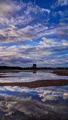 Torreón y nubes (zapicaña) Tags: cabodegata cielo clouds cabo sky spain almeria andalucia nubes españa europa europe agua water waterscape landscape paisaje