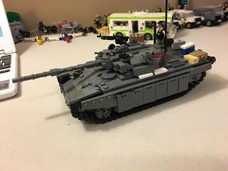 T90 turret, bouta go back to the original design
