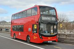 YY67 UTM (EH212) Go-Ahead London Central (hotspur_star) Tags: londontransport londonbuses londonbus londonbuses2018 alexanderdennisltd enviro400hmmc tfl transportforlondon hybridbus hybridtechnology busscene2018 doubledeck goaheadlondoncentral yy67utm eh212 172
