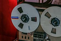 TEAC reel to reel tape recorder (Leo Reynolds) Tags: xleol30x leol30random panasonic lumix fz1000 tape recorder reel spool xx2018xx