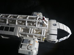 Space 1999 Eagletransporter (ledamu12) Tags: space 1999 moonbase alpha1 mondbasis lego moc eagletransporter