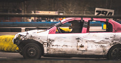 Intense (sidewaysbob) Tags: aldershot bangers cars race raceway racing short sunday track