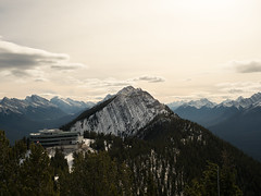 Sulphur Mountain in Banff (FamHiroshima) Tags: sulphurmountain banffgondola banff nationalpark mountainscape mountain landscape nature high omd alberta canada