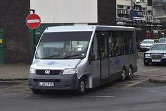 62. LJ07 PYG: Rotherham Community Transport (chucklebuster) Tags: lj07pyg rotherham community transport volkswagen vw transporter bluebird auriga london hire bromley