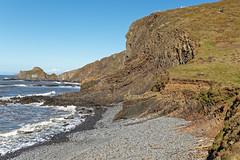 Cliff Face (northdevonfocus) Tags: cliff northdevoncoast hartlandpeninsula hartlandheritagecoast southwestcoastpath rocks beach seashore seascape