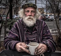 Scotty Allen (JohnKosterImages) Tags: drugs blue eyes white crazy street portrait color angry sad