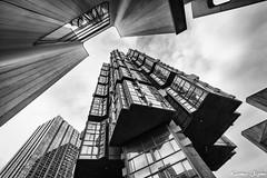 The rocket (karmajigme) Tags: buildings architecture immeubles sky clouds monochrome blackandwhite noiretblanc city paris ville nikon