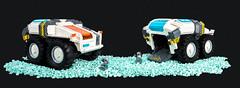 Deep Cheese Discoverer (roΙΙi) Tags: rover space deepspacediscovery roguebricks afol moc lego