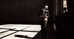 LOTD 90: Leather (goodies & gifts) (ღ ♠ Aegir ♠ ღ) Tags: secondlife sl blog blogger fashion new offer sale release gift hunt freebie gifts belleza catwa lotus sintiklia eclipse design slackgirl littlebat tralala diner pine lake winnie smokegems jin hello tuesday tlc tcf urban warehouse rust rusty postapo junk dark grunge goth light shadow shadows leather window shade
