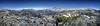 Panorama from crest N of Thousand Island Lake - Sierra (Bruce Lemons) Tags: sierranevada mountains backpacking hike hiking wilderness landscape california lake thousandislandlake minarets anseladamswilderness weberlake donahuepass bannerpeak sanjoaquinriver gemlake sanjoaquinmountain