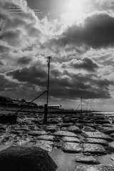 The light and the darkness.... (viewfinder.general) Tags: thornham fullmoon hightide