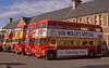 Clydeside RML900 & other RMs  at Dunbar., Aug'88. (David Christie 14) Tags: dunbarrally clydeside london rml rm