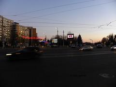 Dusk in Bucharest on New Year's Eve (cod_gabriel) Tags: lights christmaslights crăciun sărbători sarbatori iarna iarnă winter holidays winterholidays bucharest bucarest bucareste bukarest boekarest romania roumanie românia dusk newyearseve