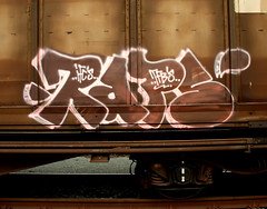 graffiti on freighttrains (wojofoto) Tags: freighttraingraffiti freighttrain fr8 cargotrain vrachttrein amsterdam graffiti streetart nederland netherland holland wojofoto wolfgangjosten raps