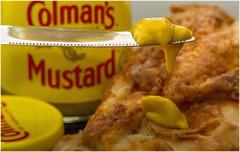 Macro Mondays – Condiment (Explored - 17 Apr 18) (Haggis Hag) Tags: macromondays condiment colman's colman english mustard norwich norfolk england strong paste powder yellow canon 7d macro mondays 100 100mm f28 usm ef challenge theme