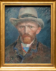 Self-portrait | Vincent van Gogh | 1887 | The Rijksmuseum-83 (Paul Dykes) Tags: rijksmuseum museumofthenetherlands art gallery museum amsterdam netherlands nl holland selfportrait vincentvangogh 1887