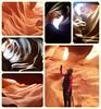 Antelope Canyon (France-♥) Tags: antelopecanyon arizona collage canyon page nature usa etatsunis