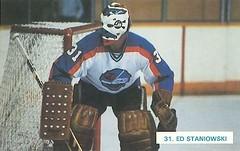Winnipeg Jets - Ed Staniowski (vintage.winnipeg) Tags: winnipeg manitoba canada vintage history historic sports winnipegjets