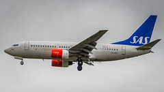 Boeing 737-783 LN-RNO SAS Scandinavian Airlines (William Musculus) Tags: airport spotting london heathrow lhr egll international lnrno sas scandinavian airlines boeing 737783 737700