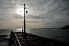 MAR_1813_00003 (Roy Curtis, Cornwall) Tags: uk cornwall porthleven the pier silhouette seaside sea coast