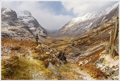 Ralston Cairn Glen Coe (Ben.Allison36) Tags: thesearemymountainsandihavecomehome ralston cairn glen coe scotland memorial cross
