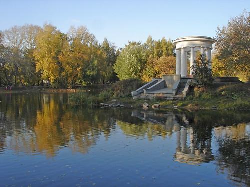 Осень в Харитоновском парке ©  ayampolsky