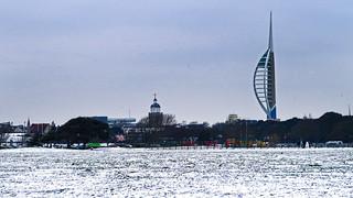 Snowy Southsea
