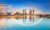 _MG_3309 - Golden hour idyll in Dubai (AlexDROP) Tags: 2018 dubai uae travel architecture longexposure skyscraper color city wideangle urban scape canon6d ef16354lis best iconic famous mustsee picturesque postcard goldenhour