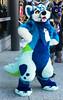 Bonkittude (SnapperGee) Tags: furry fursuit fursuiting fursuiter costume fc2018 furcon furtherconfusion furtherconfusion2018 cute adorable ear ears blue happy sfw safeforwork oc originalcharacter original originalspecies tail matrices bonk