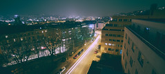 SiFi Nights (Marc R. A.) Tags: color night nightphotography city cityscape lines lighttrails cityoverlook