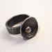 Precious Metal Clay, antiqued ring
