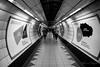 Underground (rfabregat) Tags: underground london metro subway travel travellers bw blackandwhite perspective vanishingpoint uk gb england nikon nikond750 d750 nikkor nikkorlenses