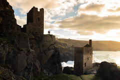 """Stay"" - Botallack mine ruins, Cornwall (alejandro.romangonzalez) Tags: cornwall landscape seascape outdoors nature heritage mining sunset ruins canon6d uk england botallack nationaltrust coast coastal coastalpath cliff"