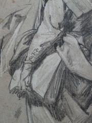 VAN DYCK Antoon - Homme, vu de dos, portant un Livre sous le bras, Etude(drawing, dessin, disegno-Louvre INV19914) - Detail 10 (L'art au présent) Tags: art painter peintre details détail détails detalles drawings dessins dessins17e 17thcenturydrawings louvre museum paris france dessinshollandais dutchdrawings dutchpainters peintreshollandais antoonvandyck antoon antoine anton book figure figures personnes people man men homme croquis étude study studies sketch sketches étudiant student