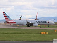 American Airlines B757-223 N187AN taxiing at MAN/EGCC (AviationEagle32) Tags: manchester man manchesterairport manchesteravp manchesterairportatc manchesterairportt1 manchesterairportt2 manchesterairportt3 manchesterairportviewingpark egcc cheshire ringway ringwayairport runway runwayvisitorpark runway23r unitedkingdom uk airport aircraft airplanes apron aviation aeroplanes avp aviationphotography aviationlovers avgeek aviationgeek aeroplane airplane planespotting planes plane flying flickraviation flight vehicle tarmac american americanairlines oneworld aa boeing boeing757 b757 b757200 b757w b757200w 757 b752 b757223 n187an