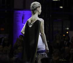 Aff Edit-2fs (O Harris) Tags: model blonde dress runway fashion glamour stage slim slender fit braid armhair peachfuzz shawl cape throw ottawa canada canon affinityphoto