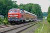 BR218 DB REGIO - Meckenbeuren (Giovanni Grasso 71) Tags: br218 db regio meckenbeuren giovanni grasso nikon d700 bodensee lindau ulm friedrichshafen locomotiva diesel