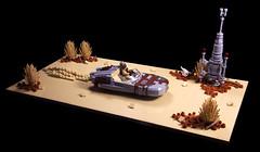 Tusken LandSpeeder (Sad Brick) Tags: lego starwars tusken speeder moc