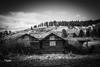 Historic LaGrande (JGemplerPhotography) Tags: oregon oregontrail lagrande building oldhouse mountains bw