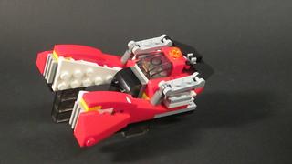 Blade Runner Inspired Hovercar 31057 Alternate Model