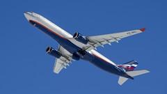 Airbus A330 Aeroflot VQ-BEL (Zhuravlev Nikita) Tags: airbus kamchatka cpotting elizovo uhpp 330 a330 vqbel aeroflot