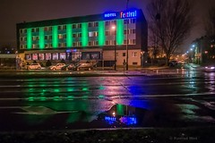 Opole (nightmareck) Tags: opole opolskie polska poland europa europe fotografianocna bezstatywu night handheld fujifilm fuji xe1 fujixe1 fujifilmxe1 apsc xtrans xmount mirrorless bezlusterkowiec xf18mm xf18mmf20r fujinon pancakelens