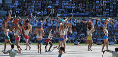 Gymnaestrada Lausanne (lmorisod) Tags: gymnastique fille gym girls gars danse d750 nikon nikond750 suisse switzerland vaud béjart