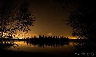 Sunset - Islet Lake