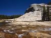 Yosemite Granite Water & Sky (RobertCross1 (off and on)) Tags: 1250mmf3563mzuiko ca california em5 highsierra omd olympus pacificcresttrail sierranevada sierras tuolumne tuolumneriver yosemite yosemitenationalpark bluesky forest granite landscape mountains nature river stream trees water