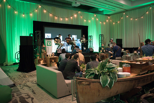 TD Green Room at the JUNO Awards