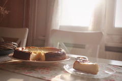 """Cheesecake will always taste like love."" (Sandra Köppen 