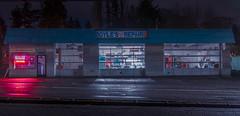 Boyles Repair (llabe) Tags: automotive cars garage boyle'srepair mood nightlights night lakewood washington nikon d750