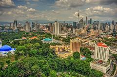(King The Man) Tags: malaysia kualalumpur kuala lumpur sentral park green cloud hdr exposure building towner city